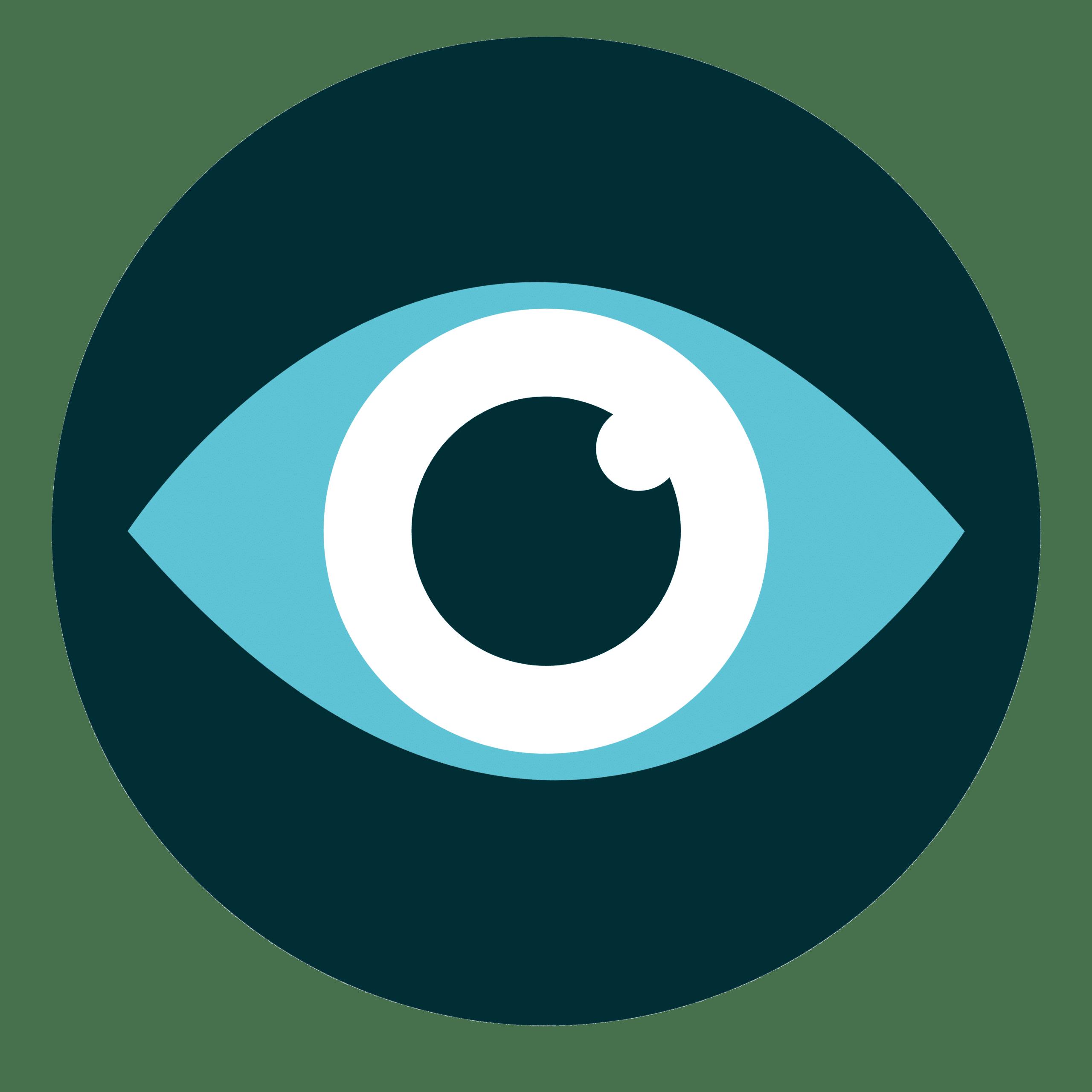 vidéoconsult icone avec un oeil