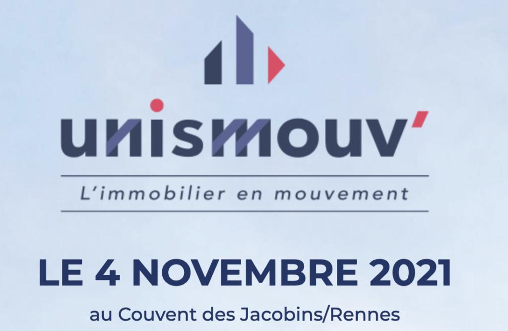 Videoconsult présent à l'événement UNISMOUV', à Rennes en novembre 2021